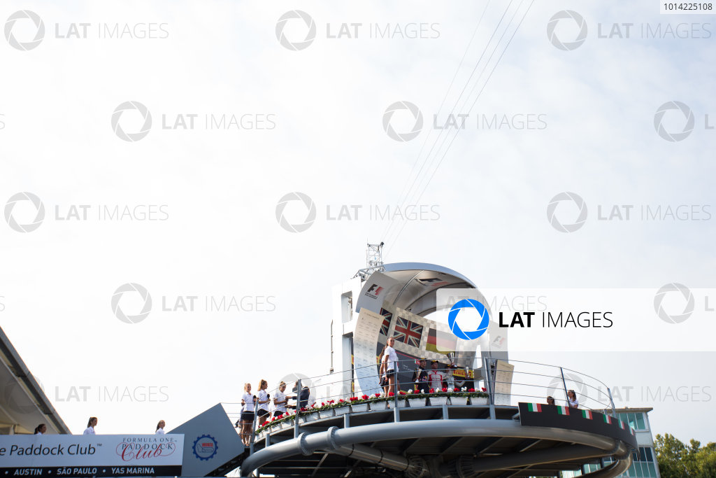 2014 GP3 Series. Round 7.   Autodromo di Monza, Monza, Italy. Sunday 7 September 2014. Alex Lynn (GBR, Carlin), Dean Stoneman (GBR, Marussia Manor Racing) and Marvin Kirchhofer (GER, ART Grand Prix). Photo: Zak Mauger/GP3 Series Media Service. ref: Digital Image _L0U0141