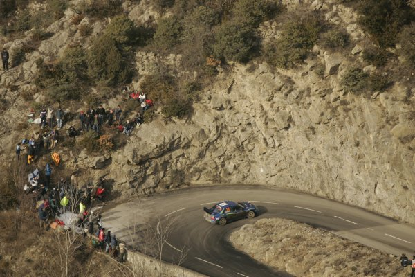 2006 FIA World Rally Champs. Round One, Monte Carlo Rally.19th - 22nd January 2006.Chris Atkinson, Subaru, Action.World Copyright: McKlein/LAT