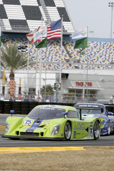 28-31 January, 2010, Daytona Beach, Florida USANo. 75, Krohn Racing, Ford / Lola of Colin Braun, Nic Jonsson, Tracy Krohn  & Ricardo Zonta©2010, Greg Aleck, USALAT Photographic