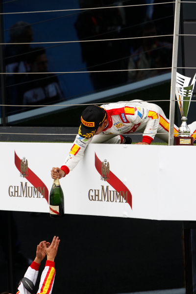 2015 GP2 Series Round 5.  Silverstone, Northamptonshire, England. Sunday 5 July 2015. Rio Haryanto (INA, Campos Racing)  Photo:  Sam Bloxham/GP2 Media Service ref: Digital Image _G7C2098
