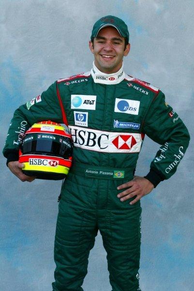 Antonio Pizzonia (BRA) Jaguar.Formula One World Championship, Rd1, Australian Grand Prix, Driver Portraits, Albert Park, Melbourne, Australia, 6 March 2003.DIGITAL IMAGE