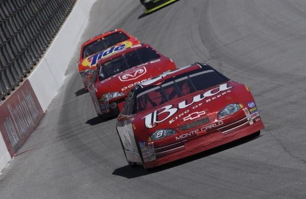 Dale Earnhardt Jr (USA) Chevrolet Monte CarloMBNA America 500, Atlanta Motor Speedway, USA. Qualifying - 09 March 2002.DIGITAL IMAGE