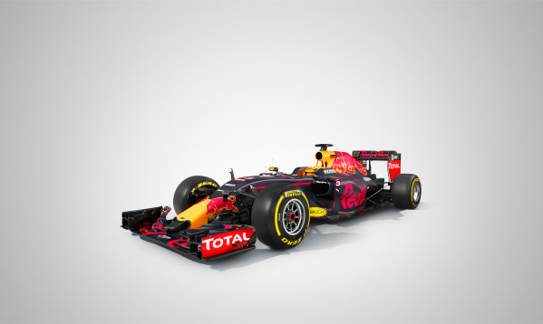 Red Bull Racing RB12 Studio Images. Milton Keynes, UK. Saturday 20 February 2016. The Red Bull RB12. Photo: Red Bull Content Pool (Copyright Free FOR EDITORIAL USE ONLY) ref: Digital Image 20160220_REDBULL_RB12_04