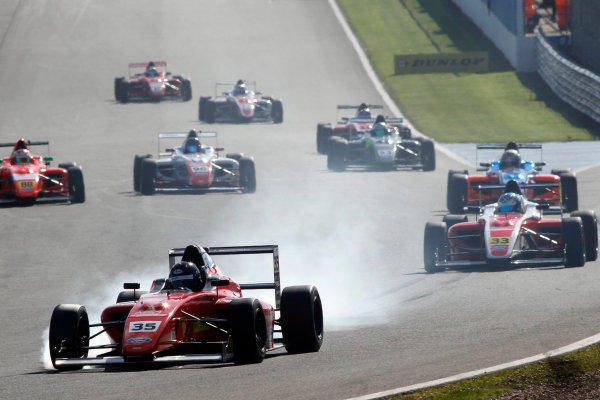 2016 MSA Formula Donington Park, 16th-17th April 2016, Harry Hayek (AUS) Jamun Racing-MBM MSA Formula  World copyright. Jakob Ebrey/LAT Photographic