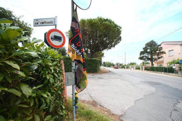 2017 Superbike World Championship - Round 7 Misano, Italy. Thursday 15 June 2017 Nicky Hayden accident site World Copyright: Gold and Goose Photography/LAT Images ref: Digital Image WSBK-100-5576