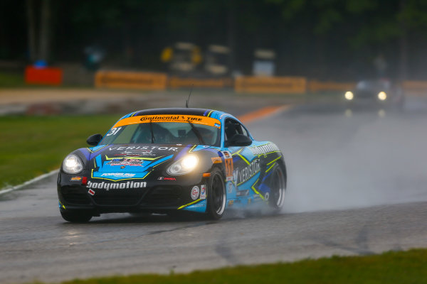 IMSA Continental Tire SportsCar Challenge Road America 120 Road America, Elkhart Lake, WI USA Friday 4 August 2017 31, Porsche, Porsche Cayman, ST, Drake Kemper, Colin Thompson World Copyright: Jake Galstad LAT Images
