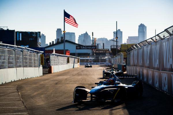 2016/2017 FIA Formula E Championship. Round 10 - New York City ePrix, Brooklyn, New York, USA. Sunday 16 July 2017. Pierre Gasly (FRA), Renault e.Dams, Spark-Renault, Renault Z.E 16. Photo: Sam Bloxham/LAT/Formula E ref: Digital Image _J6I4171