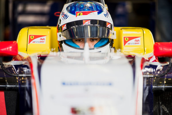 2017 GP3 Series Test 4.  Hungaroring, Budapest, Hungary. Tuesday 6 June 2017. Giuliano Alesi (FRA, Trident)  Photo: Zak Mauger/GP3 Series Media Service. ref: Digital Image _54I2200