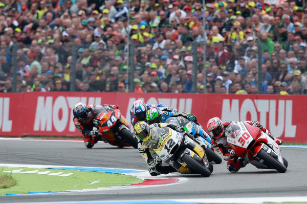 2017 Moto2 Championship - Round 8 Assen, Netherlands Sunday 25 June 2017 Thomas Luthi, CarXpert Interwetten World Copyright: David Goldman/LAT Images ref: Digital Image 680244