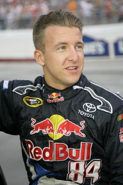 A. J. Allmendinger (USA) Red Bull Toyota. Sharpie 500, Bristol Motor Speedway, Tennessee, USA, 22-24 August 2008.