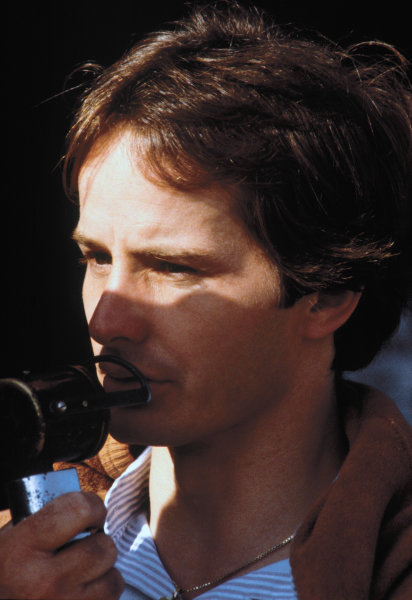 Brands Hatch, Great Britain. 11-13 July 1980. Gilles Villeneuve, Ferrari. World Copyright: LAT Photographic. Ref: 80GB35