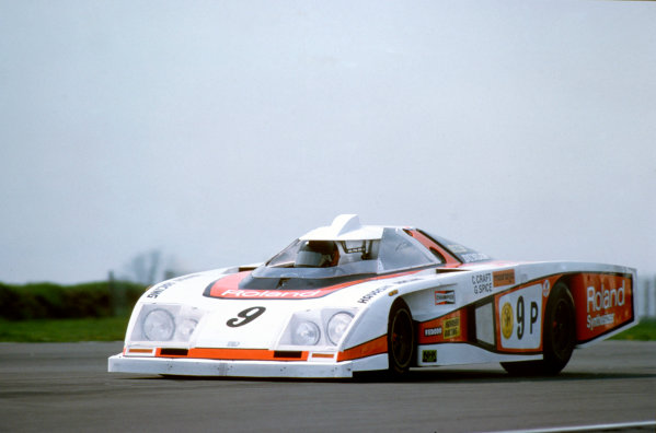 Silverstone, England. 6th May 1979. Rd 4.Chris Craft/Gordon Spice (Dome Zero RL Ford), 12th position, action. World Copyright: LAT Photographic.Ref:  79SCARS