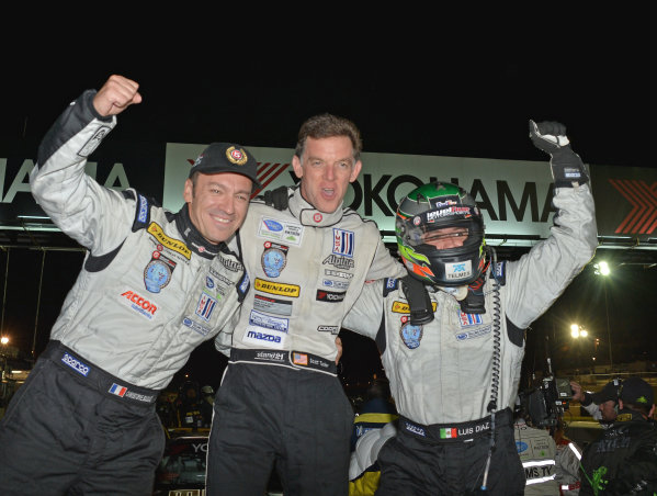 17-20 October, 2012, Braselton, Georgia USA.#95 Level 5 Motorsports LMP2 class winners.(c)2012 Dan R. Boyd, LAT Photo USA