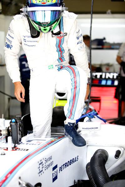 Interlagos, Sao Paulo, Brazil. Friday 7 November 2014. Felipe Massa, Williams F1. World Copyright: Glenn Dunbar/LAT Photographic. ref: Digital Image _W2Q0780