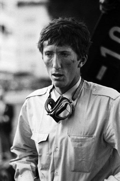 Formula Junior driver Jochen Rindt.