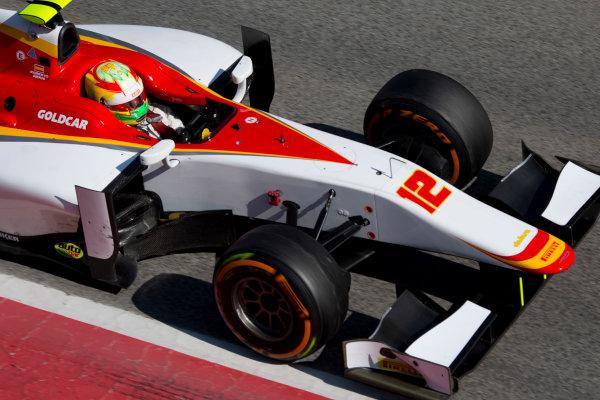 Circuit de Barcelona Catalunya, Barcelona, Spain. Tuesday 14 March 2017. Roberto Merhi (ESP, Campos Racing). Action.  Photo: Alastair Staley/FIA Formula 2 ref: Digital Image 585A8564