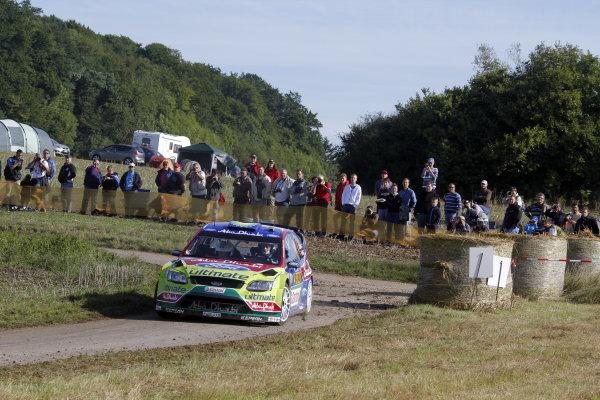 Round 09Rallye Deutschland 19-22/8 201Jari-Matti Latvala, Ford WRC, ActionWorldwide Copyright: McKlein/LAT