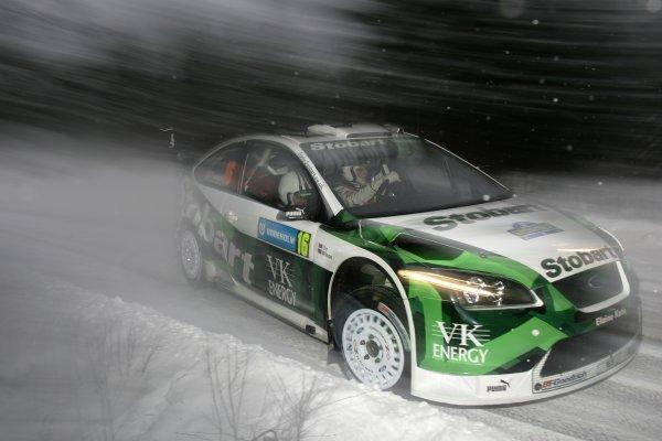 2007 FIA World Rally Championship,Round 2 Swedish Rally 8th-11th February 2007,Matthew Wilson, Ford, action,Worldwide Copyright McKlein/LAT.