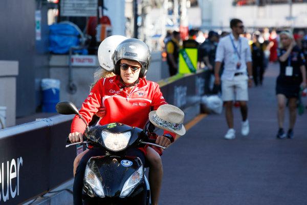 Monte Carlo, Monaco. Saturday 24 May 2014. Jules Bianchi, Marussia F1. World Copyright: Charles Coates/LAT Photographic. ref: Digital Image _J5R2357