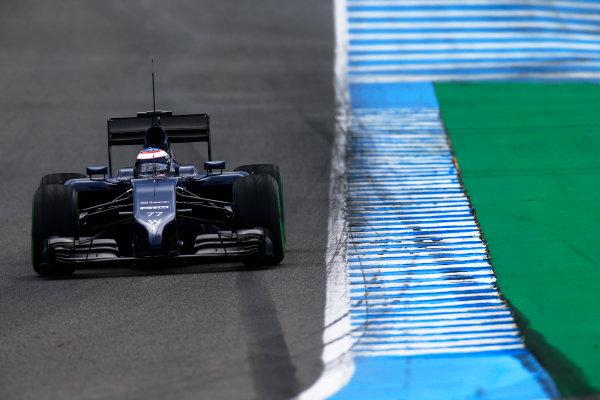 2014 F1 Pre Season Test 1 - Day 2 Circuito de Jerez, Jerez, Spain. Wednesday 29 January 2014. Valtteri Bottas, Williams FW36 Mercedes. World Copyright: Glenn Dunbar/LAT Photographic. ref: Digital Image _W2Q9322.JPG