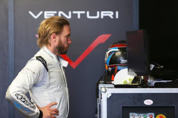 FIA Formula E Test Day Donington Park, UK.  3rd - 4th July 2014.  Nick Heidfeld, Venturi Grand Prix. Photo: Zak Mauger/FIA Formula E ref: Digital Image _L0U5233