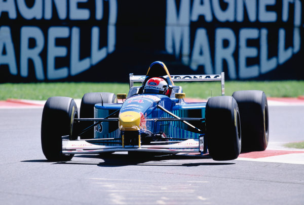 1996 Italian Grand Prix.Monza, Italy. 6-8 September 1996.Johnny Herbert (Sauber C15 Ford).Ref-96 ITA 49.World Copyright - LAT Photographic