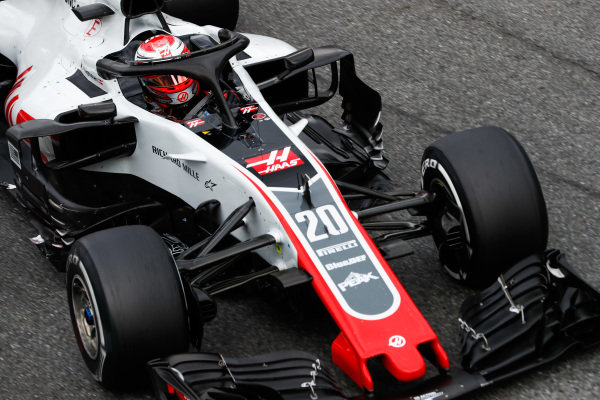 Kevin Magnussen, Haas F1 Team VF-18.