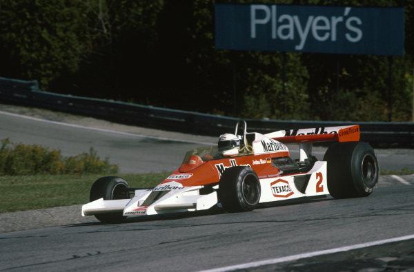 Jochen Mass, McLaren M26 Ford.