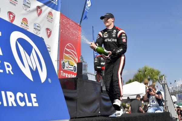 Josef Newgarden, Team Penske Chevrolet, winner, victory lane