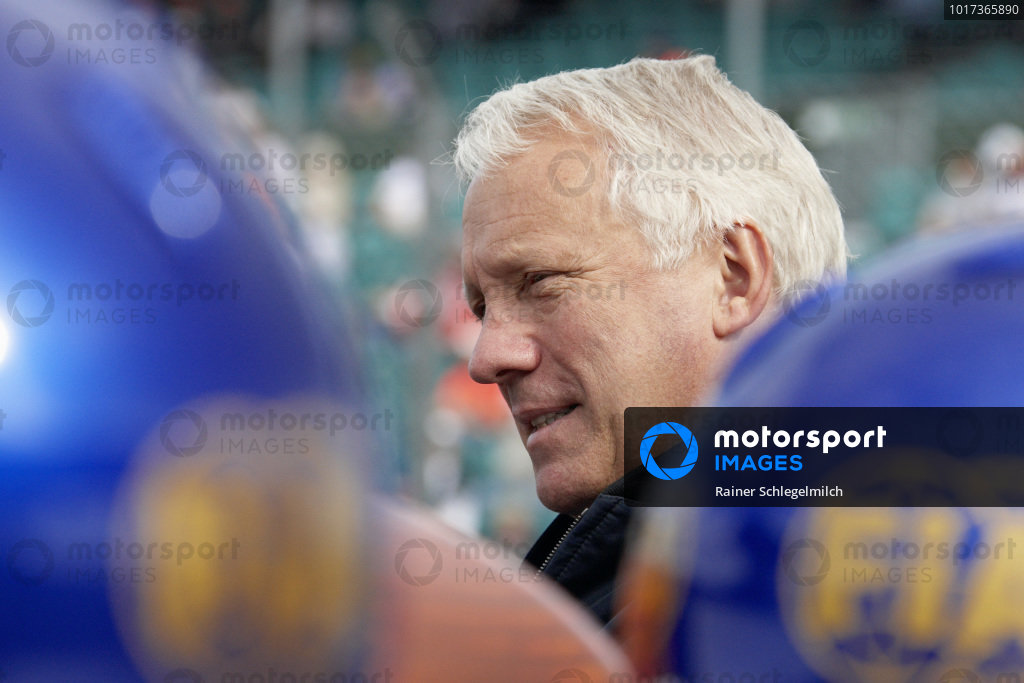 Charlie Whiting, the FIA Safety Delegate and head of the F1 Technical Department.