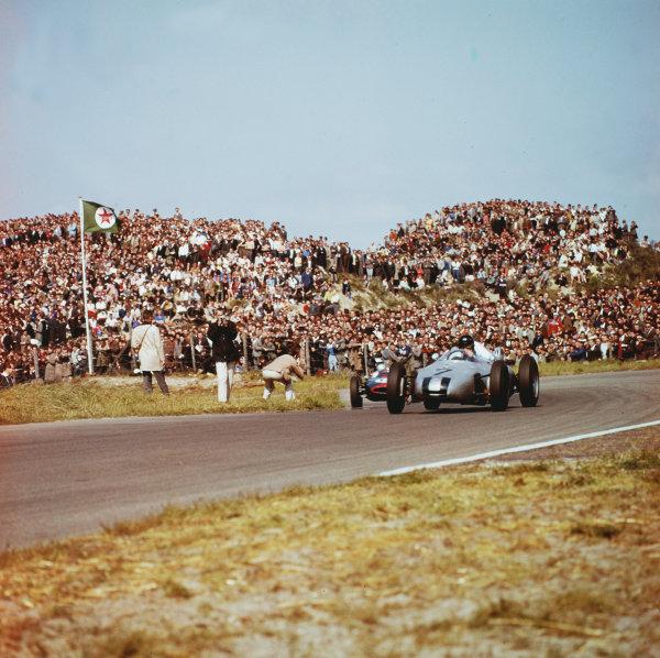 1961 Dutch Grand Prix.Zandvoort, Holland.20-22 May 1961.Dan Gurney (Porsche 787).Ref-3/0276.World Copyright - LAT Photographic