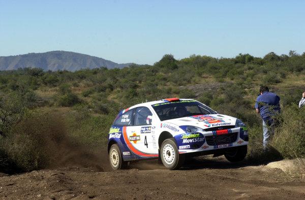 2001 World Rally Championship. ArgentinaMay 3rd-6th, 2001Colin McRae during shakedown.Photo: Ralph Hardwick/LAT