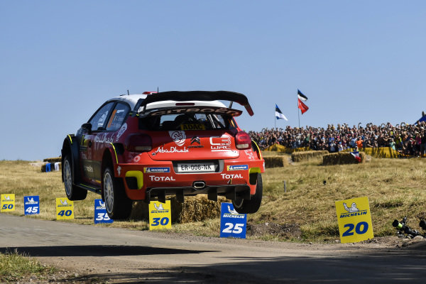 Craig Breen flying on Rallye Deutschland