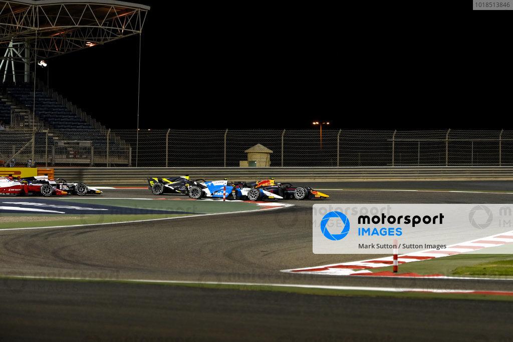 Juri Vips (EST, Hitech Grand Prix), battles with Lirim Zendeli (DEU, MP Motorsport)