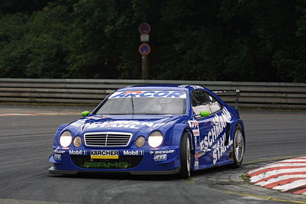 2001 German Touring Cars.Norisring, Germany, 7-8th July 2001.Marcel Tiemann, AMG Mercedes CLK, 3rd.World Copyright Spinney/Lat Photographic.Ref.:8 5mb Digital.