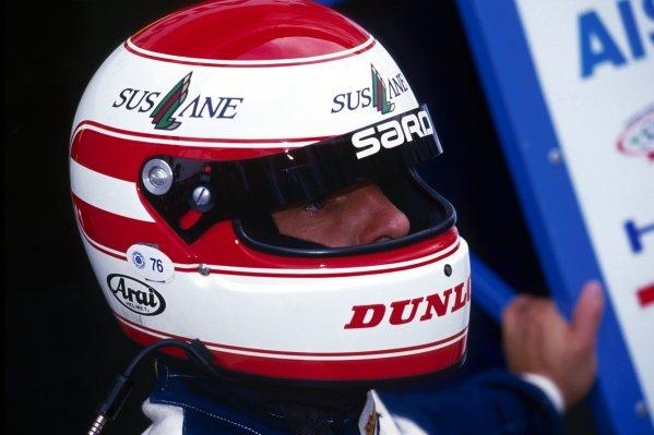 Roland Ratzenberger (AUT) SARD Toyota 93CÐV finished the race in fifth position.Le Mans 24 Hours Race, Circuit de la Sarthe, France, 20 June 1993.