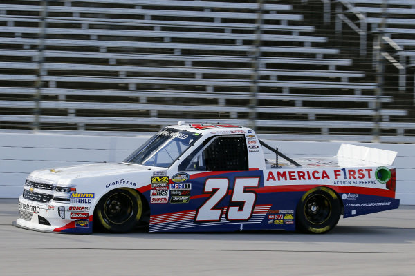 #25: Tyler Dippel, GMS Racing, Chevrolet Silverado America First/Turning Point USA
