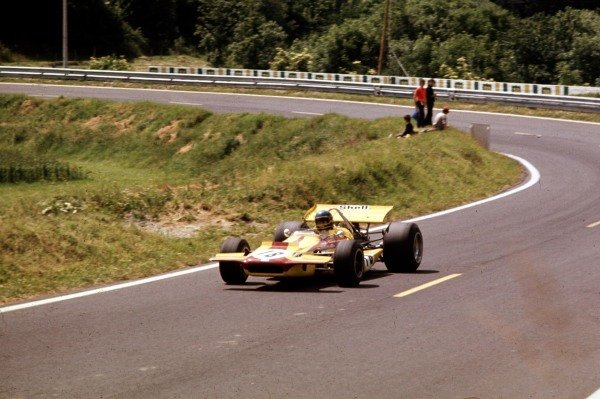 1970 French Grand Prix.Clermont-Ferrand, France.3-5 July 1970.Ronnie Peterson (March 701 Ford).Ref-70 FRA 02.World Copyright - LAT Photographic