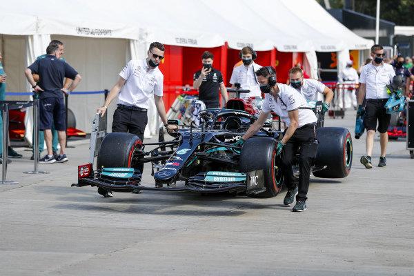 A 2019 Mercedes-Benz F1 W10 EQ Power+