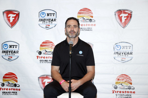 Jimmie Johnson and Chip Ganassi, Chip Ganassi Racing Honda announce that Johnson will compete in IndyCar in 2021