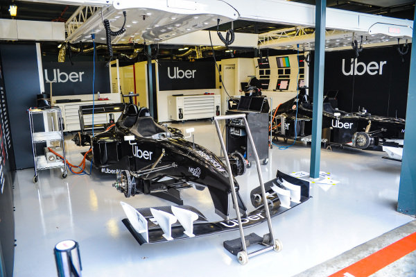 F1 Experiences 2-seater sponsored by Uber