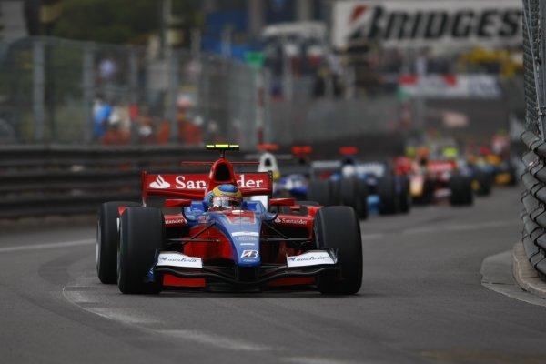 2008 GP2 Series. Round 3. Saturday Race. Monte-Carlo, Monaco. 24th May 2008.Bruno Senna (BRA, iSport International). Action. World Copyright: Charles Coates/GP2 Series Media Service.ref:__26Y9395 jpg