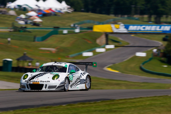 IMSA WeatherTech SportsCar Championship Michelin GT Challenge at VIR Virginia International Raceway, Alton, VA USA Friday 25 August 2017 50, Mercedes, Mercedes AMG GT3, GTD, Gunnar Jeannette, Cooper MacNeil World Copyright: Jake Galstad LAT Images