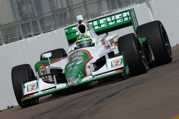 26-28 March 2010, St petersburg, Florida USA#11 Andretti Autosport's Tony Kanaan.©Dan R. Boyd LAT Photographic USA
