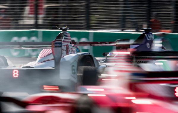 2017/2018 FIA Formula E Championship. Round 5 - Mexico City ePrix. Autodromo Hermanos Rodriguez, Mexico City, Mexico. Saturday 3 March 2018. Alex Lynn (GBR), DS Virgin Racing, DS Virgin DSV-03. Photo: Zak Mauger/LAT/Formula E ref: Digital Image _54I8451
