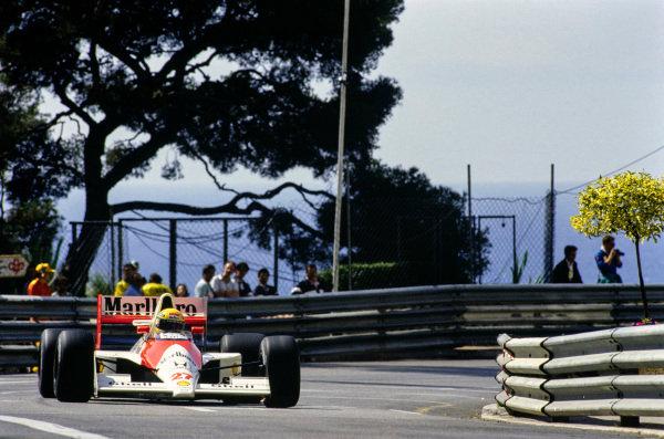 Senna's 65 pole positions