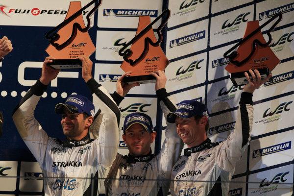 Fuji Speedway, Japan, 12th-14th October, 2012,Nick Leventis/Danny Watts/Jonny Kane Strakka Racing HPD ARX 03a HondaWorld Copyright Ebrey/LAT Photographic