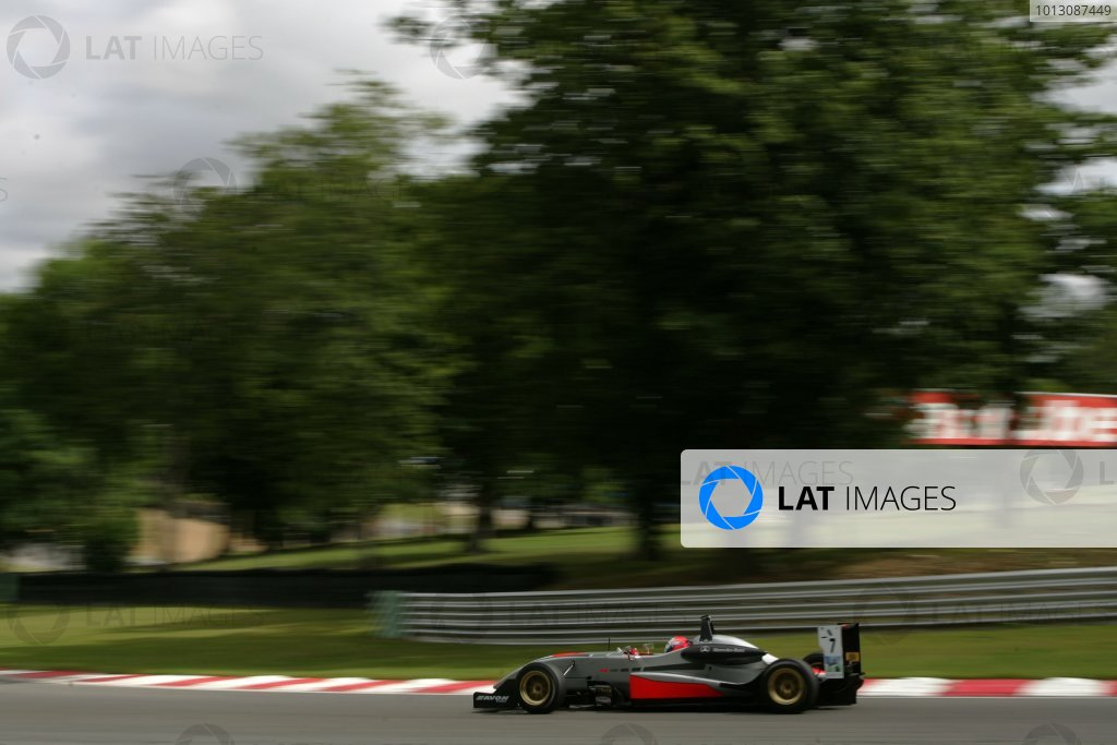 2007 British Formula Three ChampionshipBrands Hatch, England 14th -  15th July 2007,Marko Asmer (EST) - HiTech Racing Dallara Mercedes,World Copyright: Jakob Ebrey/LAT Photographic.