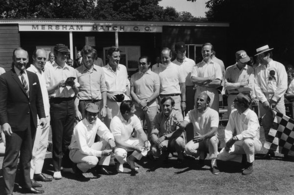 Brands Hatch, Great Britain. 21 July 1968.