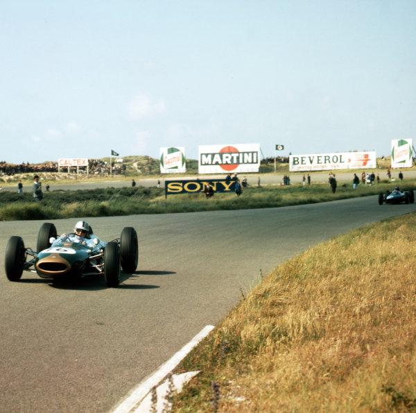 Zandvoort, Holland.21-23 May 1963.Jack Brabham (Brabham BT7 Climax).Ref-3/0975.World Copyright - LAT Photographic